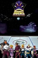 Mighty Ducks The Animated Series by Scaggs32