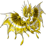 flightrising 1st skin fae dragon by manoatari
