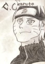 Naruto drawing. by Cerlium