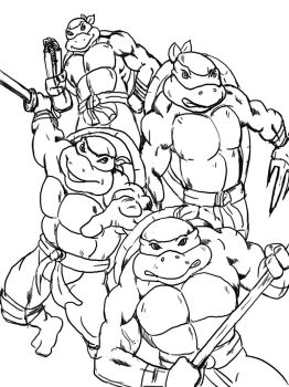 teenage mutant ninja turtle by susanto