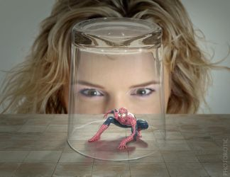 I hate spiders by Photorotic