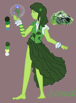 Diopside by Delirium-Syndrome
