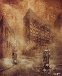 Ghost town by AlejandroDMarco