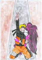 Naruto and Annie by nufan2039