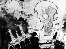 GHOST RIDER-inktober 2017-2 by BOTAGAINSTHUMANITY