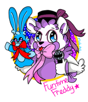 Funtime Freddy ( and Bon Bon ) by sweetmashmellowroom