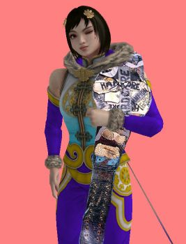 ACW Raw - Leixia (Hardcore Champion) by JoeyTribbiani125