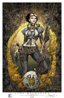 Lady Mechanika Cover 0 print by joebenitez