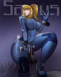 Samus by KeroDash