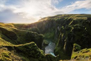 The Canyon Fjadrargljufur by LinsenSchuss