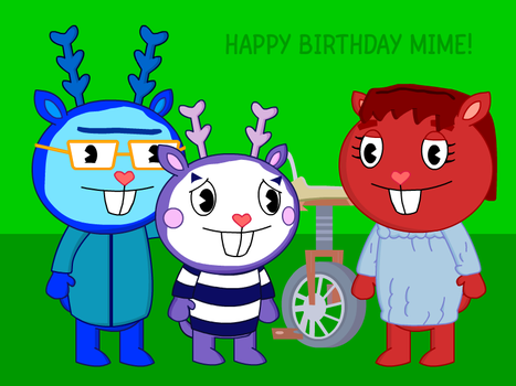 Happy Birthday Mime by ZzSleepMastRzZ
