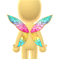 Flower Fairy Wings by Rosemoji