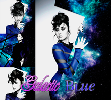 Galactic Blue by Galaxy-Love