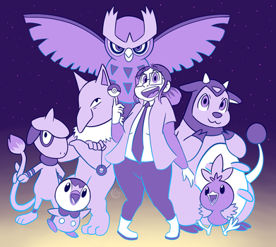 Pokemon Gym Leader Sona by Corossmo