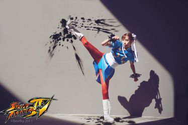 Street Fighter IV - Chun-Li 01 by beethy
