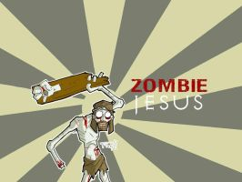 Zombie Jesus by killingspr
