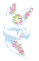 Petalpuff Sketch Adopt [CLOSED] by CloverWing