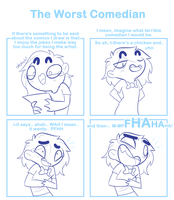 The Worst Comedian by SmokyJack
