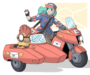 Special Delivery by doodstormer