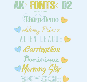AK fontes 02 by AlannaKelly