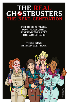 The Real Ghostbusters: The Next Generation by DrFaustusAU