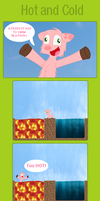 Minecraft Comic - Hot and Cold by AngelicCattt
