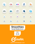 Smoothies Social Media Icons by martin870