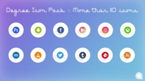 Degree Icon Pack::More than 110 icons by thechampishere03