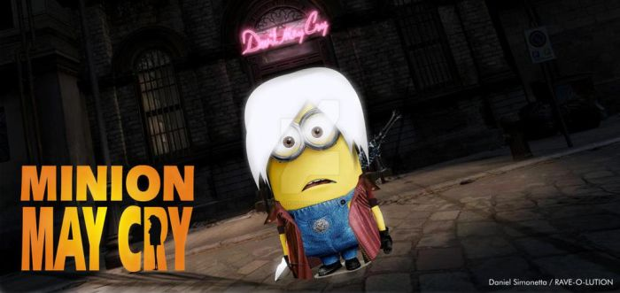Minion May Cry by RAVE-OH-LUTION
