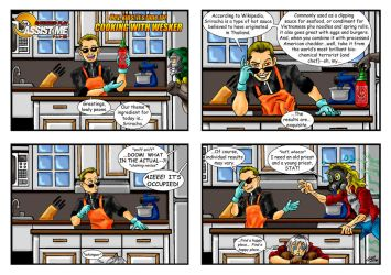 ASSIST ME! Extended Play #1:  Cooking with Wesker by Solariskaliber