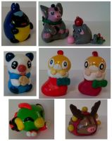 More Poke Sculptures by sorjei