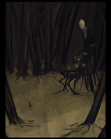 the slender man by redmaus