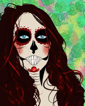 Dio De Los Muertos- Self by Eye-crazy