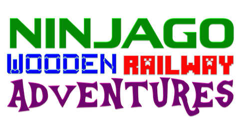 NINJAGO WOODEN RAILWAY ADVENTURES Logo by SuperJames526