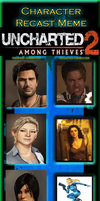 Uncharted 2 Recast by MarioFanProductions