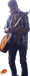 Guitarist [with shoes] by XLR8gfx