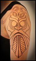Tiwas mask by Meatshop-Tattoo