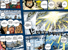 One Piece 580 pg06-07 colored by chuefue337