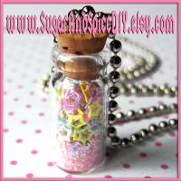 Jar Full Of Stars Necklace I by wickedland