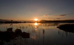 Sunrise on Loch Ba by BusterBrownBB
