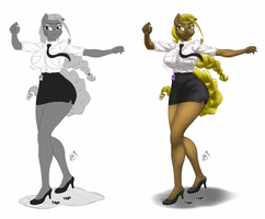 Commission - Professional Tap Dancer by Pia-sama