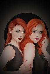 The Twins by HelleeTitch