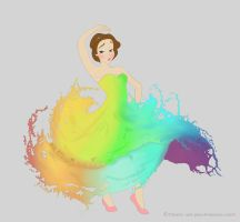 The World of Color Princess by hearts-and-pins
