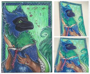 ACEO for Sysirauta by MiriElzar