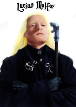 Chamber of Secrets - Lucius Malfoy by Cherry-nichan
