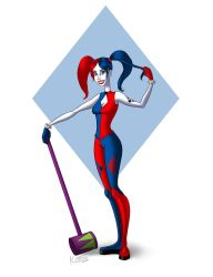 Harley Quinn-redesign by Cra-ZShaker