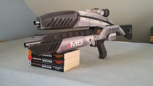 Mass Effect Rifle M8 Avenger by Soliiiid