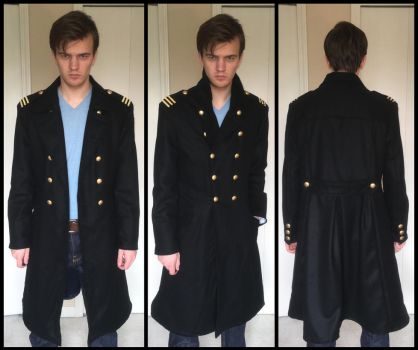 Roy Mustang cosplay Amestris military coat by TimeyWimey-007