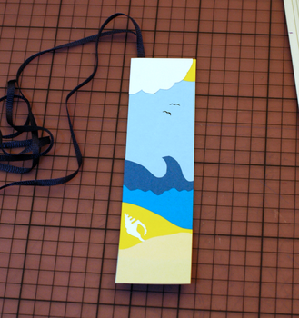 Summer Holiday Bookmark by Ariyenne