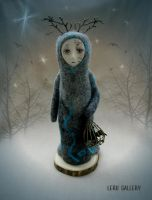 Twilight. Spirit of Mystic Forest. Fantasy doll by LeRuGallery